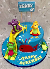 barney birthday cake the perfectionist confectionist teddy and friends barney birthday