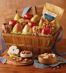 Gourmet Basket Deluxe Orchard Gift Basket Fruit Baskets Harry U0026 David