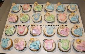 cookie dreams cookie co baby shower cookie favors cupcakes