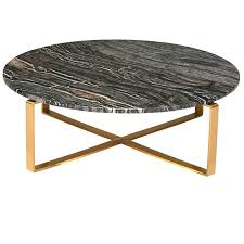 west elm marble table modern marble coffee table black brushed gold marble coffee table