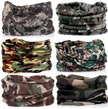 bandana wristband kalily pack of 6pcs outdoor scarf for atv utv headband