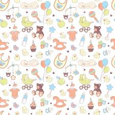 baby shower seamless pattern texture for baby baby boy stock