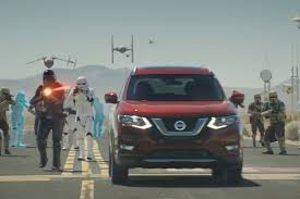 nissan commercial logo nissan u0027s rogue meets star wars u0027rogue one u0027 in new ad cmo