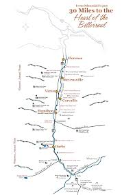bitterroot mountains map travel information going to bitterroot valley montana