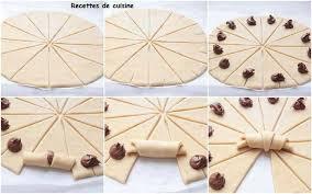 astuce de cuisine mini croissant nutella les petites gourmandises de elodie