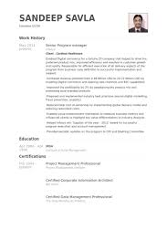 Case Manager Resume Samples by Senior Program Manager Resume Samples Visualcv Resume Samples