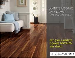 Laminate Flooring Estimate Laminate Flooring 2 99 Sf Labor Materials Special Tigard