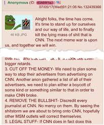 4chan Meme - reddit 4chan declare war on cnn for threatening wrestling meme