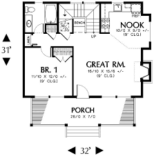One Bedroom House Plans With Loft 703 Best Small House Plans Images On Pinterest Small House Plans
