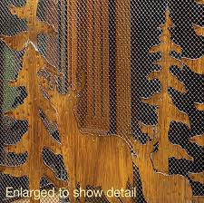 Rustic Wholesale Home Decor Rustic Forest Fireplace Screen Wholesale At Koehler Home Decor