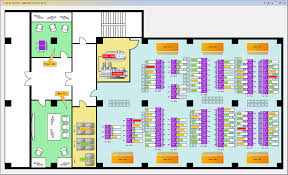 network floor plan layout widgets and gui builder in aggregate