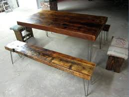 Wood Bench With Metal Legs Dining Table Legs Metal U2013 Thelt Co