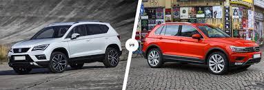volkswagen suv 2013 seat ateca vs vw tiguan suv comparison carwow