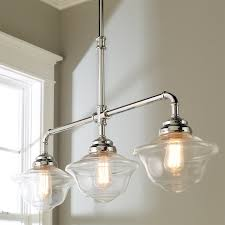 Schoolhouse Chandelier Timeless Schoolhouse Island Chandelier Shades Of Light