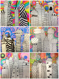 art eat tie dye repeat 2nd grade russian architecture students worked independently on choosing their patterns and color choices this lesson took 2 5 3 classes to finish