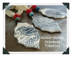 winter forest ornament tutorial by powers project home