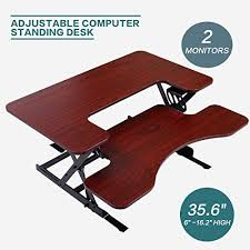 desk height for 6 2 new mtn g ergonomic height adjustable standing desk sit stand desk