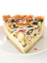Quiche Blind Bake Or Not Deep Dish Spinach Leek And Bacon Quiche Foodiecrush