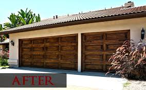 white garage door after repaintgarage color ideas for red brick