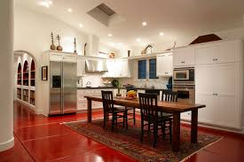 Kitchen Island Or Table by Kitchen Island With Built In Dining Table Cherry Wood Dining Room