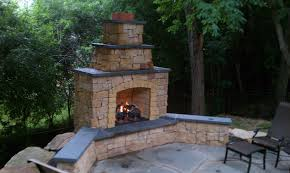 outdoor fire place crafts home