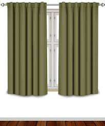 63 Inch Curtains Blackout Room Darkening Curtains Window Panel Drapes