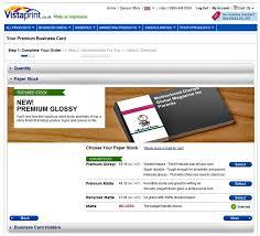 Creating Business Card Vistaprint U2013 Premium Business Cards Review Including Vistaprint U0027s