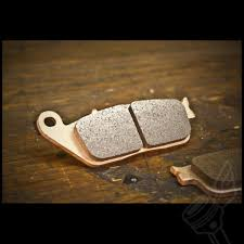 front ebc double h sintered brake pads for modern triumph twins