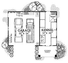 garage dog kennel garage plans with a dog kennel for breeders groomers and boarders