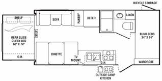 Outback Floor Plans 2008 Keystone Rv Outback Series M 21 Rs Specs And Standard