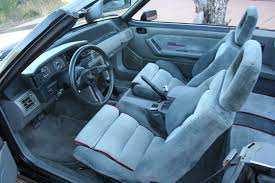 1990 Mustang Interior 1988 Convertible 88 0516 Offered On Ebay Saleen Owners And