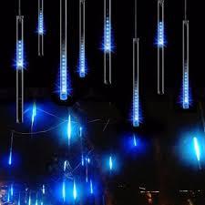 20cm meteor shower rain tubes led christmas lights outdoor garden
