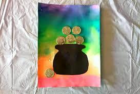 st patrick u0027s day craft for kids beautiful rainbow art craft