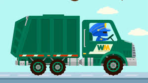 garbage truck videos for children excavator for children truck