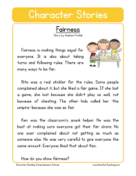free character education reading comprehension fairness jpg 773
