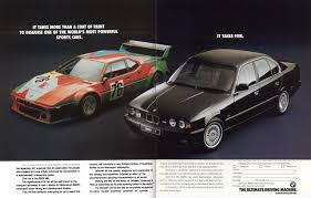bmw ads bmw m5 forum and m6 forums de witt u0027s album e26 m1 e34 m5