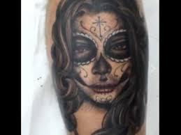 tatuagem santa muerte catrina santa morte mexico youtube