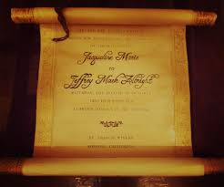 diy scroll invitations vintage scroll wedding invitation 12 steps