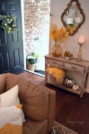 Entryway Accent Table Entryway Inspiration With Its Coastal Colors And Striking