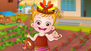 thanksgiving humorous stories baby hazel thanksgiving fun game episode youtube