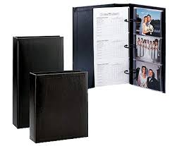 5 X 7 Photo Albums Tap Proof Books Deluxe Photo Albums Concord Black Black