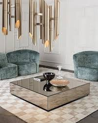 estelle mirrored coffee table mirror coffee table center table pinterest mirrored coffee