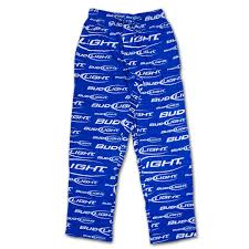 Bud Light Logo Bud Light Logo Men U0027s Pjs Blue Wearyourbeer Com