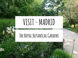 visit madrid u2013 the royal botanical gardens u2013 sophia whitham