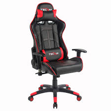 pc gaming chair color red