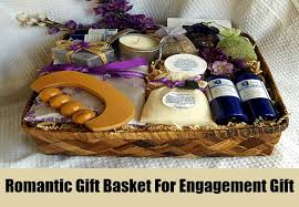 engagement gift baskets top engagement gifts ideas for couples bash corner