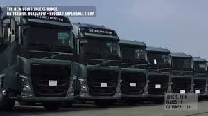 new volvo truck range 2014 신형 볼보트럭 출시 전국 순회전시 youtube