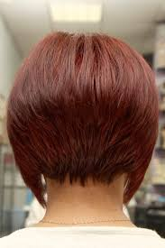 back view of wedge haircut short angled inverted bob hairstyles back view beauty and