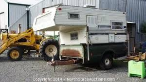 Truck Bed Trailer Camper North State Auctions Winter Wonder Auction