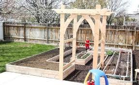 garden arbor plans how to build an arbor vegetable garden arbor plans 2 of 5 build